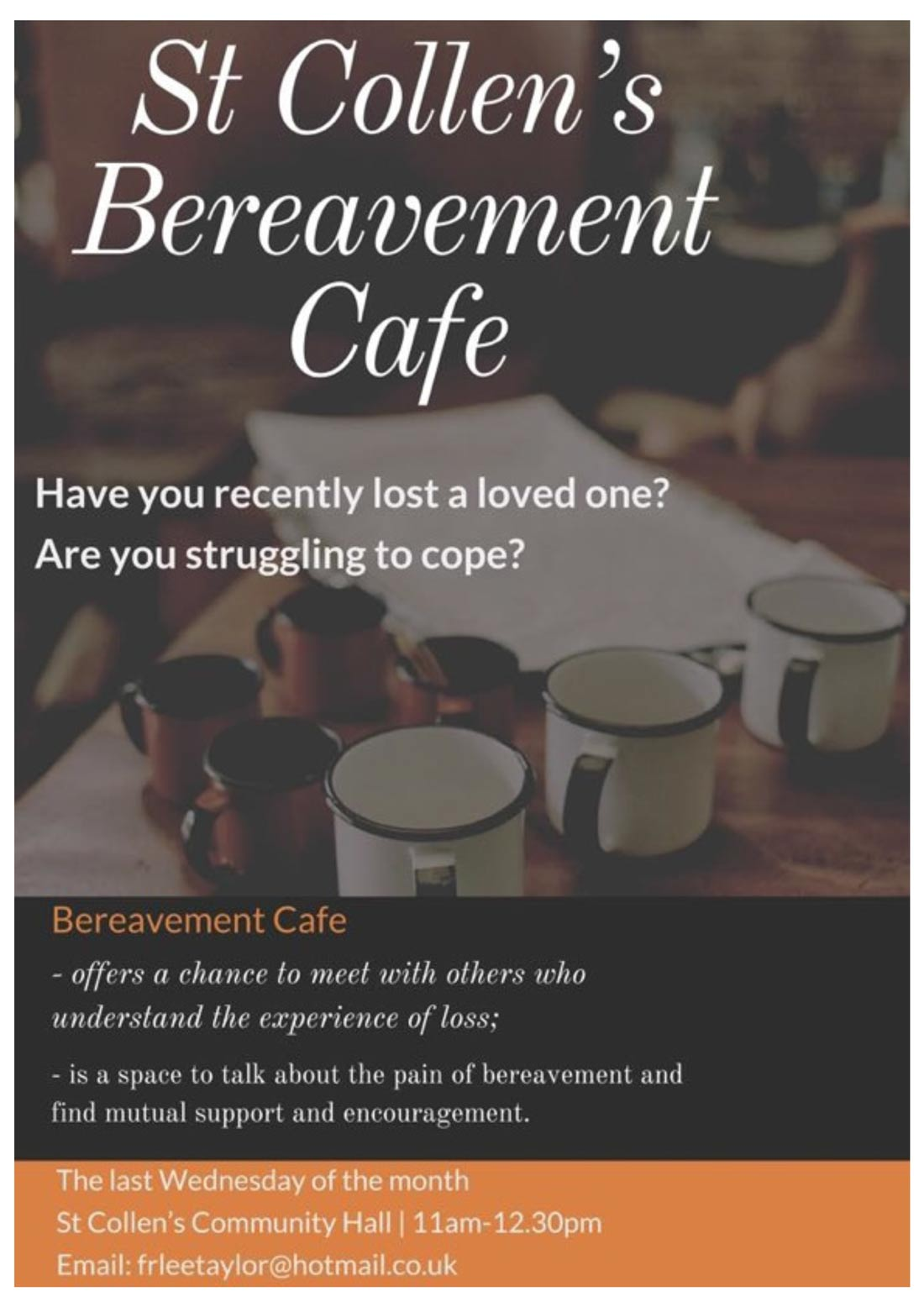 St Collen's Bereavement Cafe